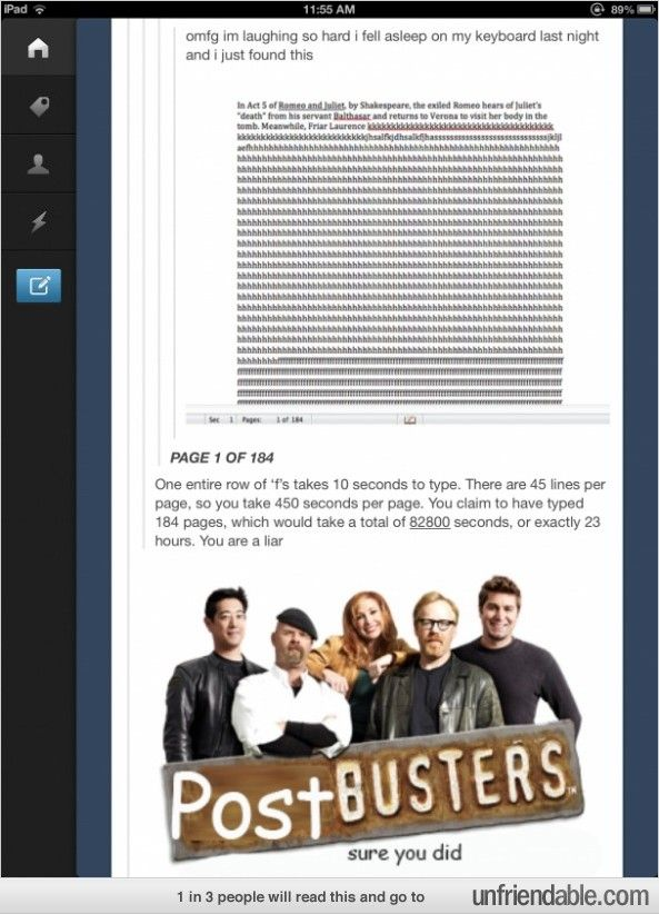 Post Busters. Is this a thing? can it be a thing? please