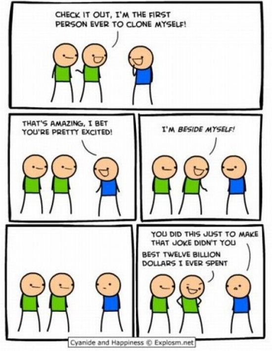 Have hit Cyanide comic strip have removed