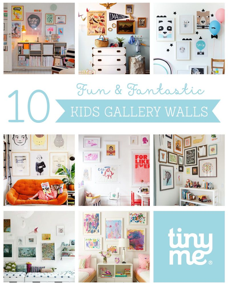 10 Kids Gallery Walls ~ Tinyme