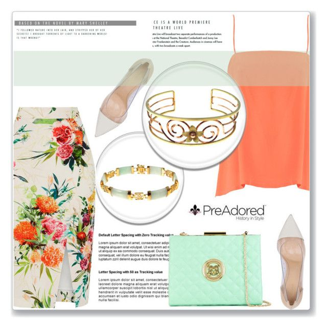 """""""PreAdored.com"""" by amra-mak ❤ liked on Polyvore featuring TIBI, Oasis, Gianvito Rossi, Love Moschino and PreAdored"""