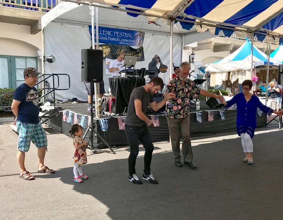 Greek Festival in SanJuanCapistrano, image by Jacki