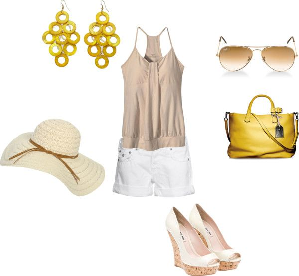 """""""Summer Casual"""" by vegasvalerie on Polyvore"""