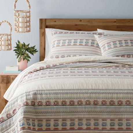 Buy Caravan 3 Piece Quilt Set From Walmart Canada Shop For More