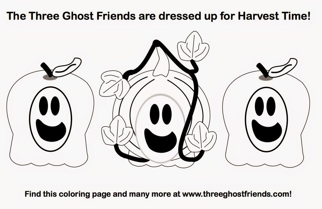 Three Ghost Friends: Activities and Printables
