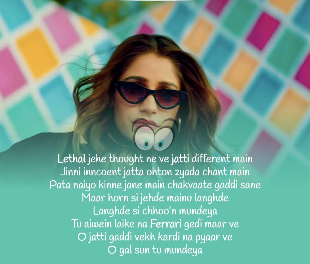 Lethal Jatti Lyrics Harpi Gill Ft Ajay Sarkaria Mista Baaz Dekhogaana Com In 2020 Lyrics Song Lyrics Songs