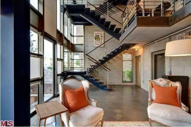 Atwater Crossing Glass Metal Abode Home Condo Living Room