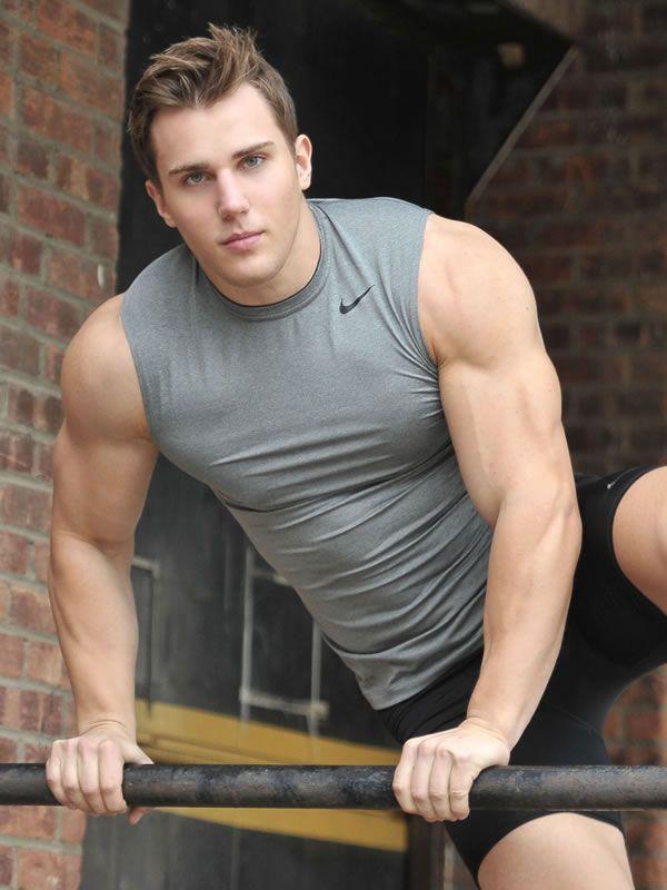Christian Bok A B Male Models Actors Men Muscle Men Tank Man