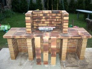 Construire son barbecue en briquesb3 300x225 guide for Fabriquer un barbecue en brique refractaire