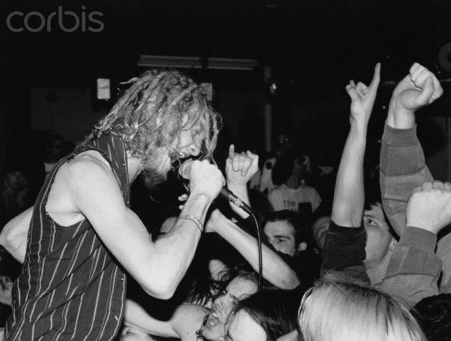 Layne Staley Of Alice In Chains Singing Date Photographed Ca