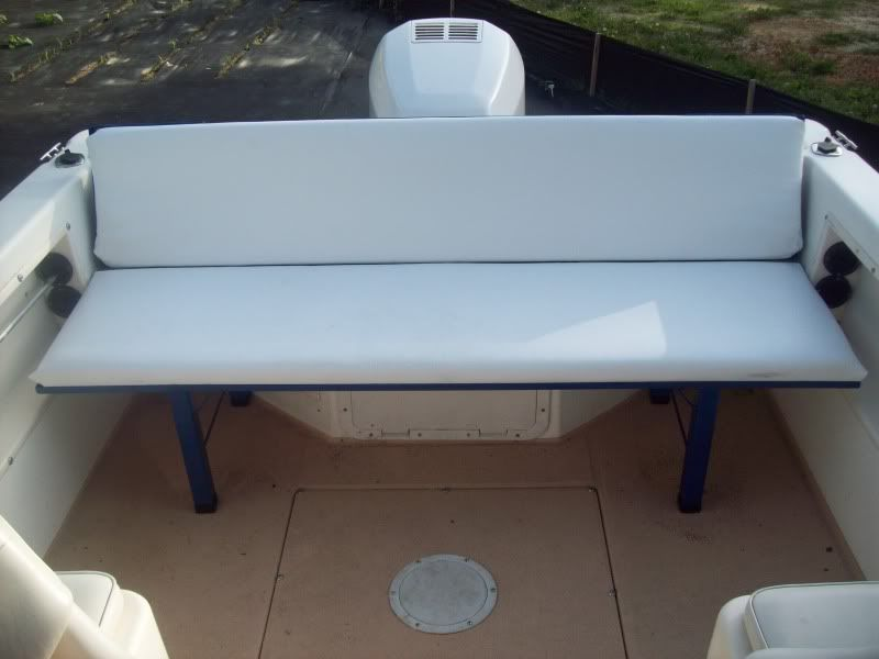 Diy Bench Seat Boat Restoration Inspiration Pinterest Boating Pontoon Boating And Boat Seats
