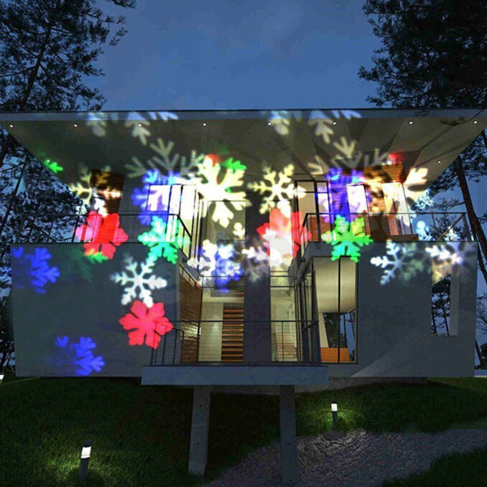 Waterproof  Outdoor Indoor Bar Party LED  Projector Light Lamp Moving Landscape
