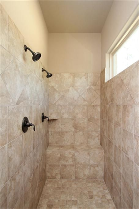 1334 Autumnwood Magnolia, TX 77354: Photo Dual shower heads in this amazing walk-in shower.