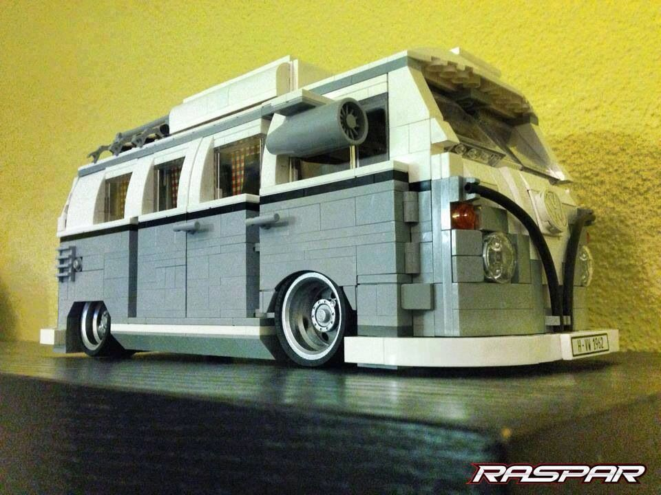 lego vw transporter pimping to the max lego technic. Black Bedroom Furniture Sets. Home Design Ideas