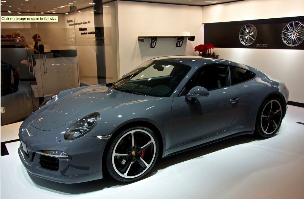 Saw This Very Nice Looking Car At The Geneva Autoshow This Week At The Exclusive Part Of The Porsche Stand Description From R Porsche 991 Porsche Porsche Cars