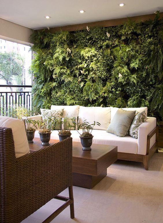 Jardines verticales interiores #green #verticalgarden #life