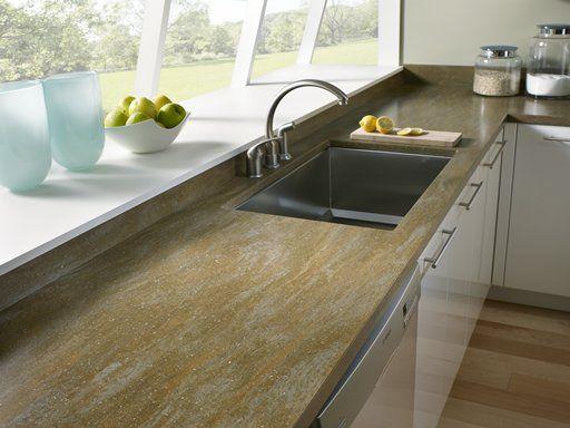 Corian Thyme Countertop Corian Kitchen Countertops Solid