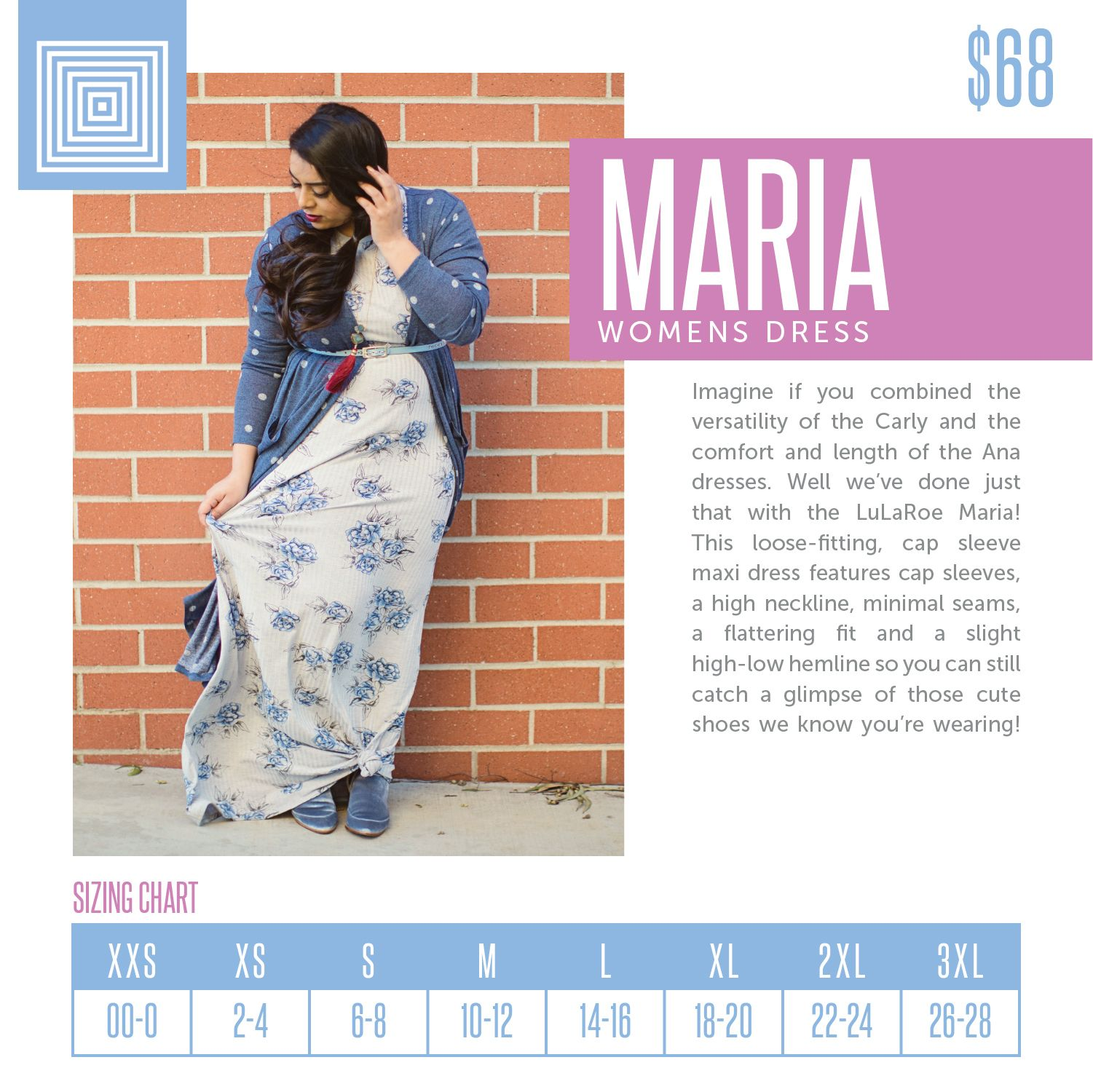 Lularoe maria sizing chart also what shall  wear in rh pinterest