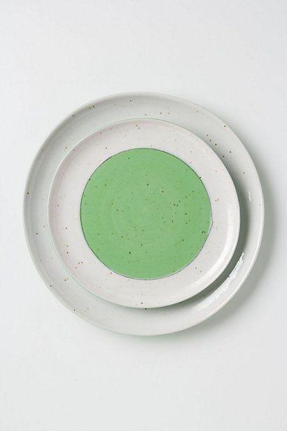 Pistachio Creme Dinner Plate Anthropologie Com Tableware Design Kitchenware Design Contemporary Dinnerware