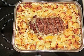 Photo of Meatloaf with Potatoes in Cream by Goldbek | chef