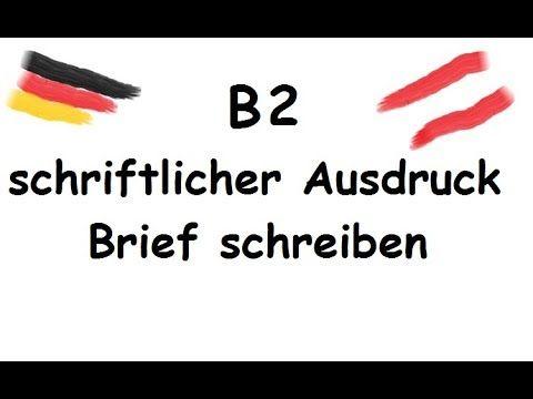 Bewerbung Brief Prüfungsvorbereitung Telc B2 Youtube B2