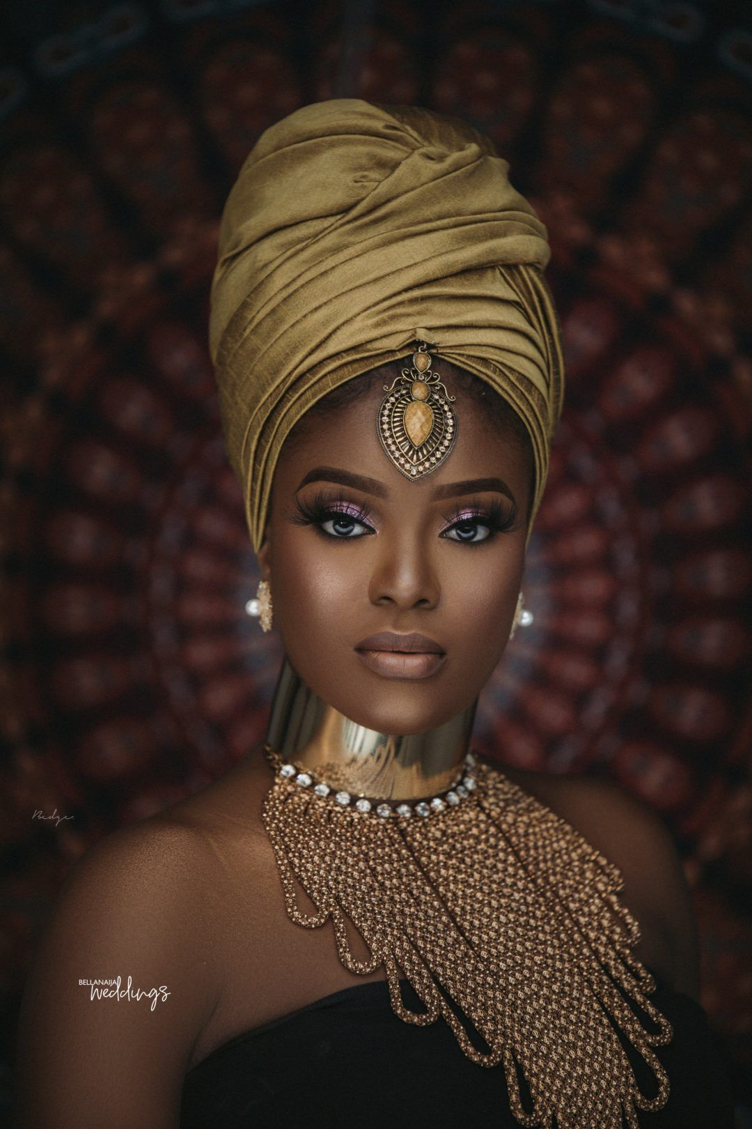 Nubian Themed Bridal Shower Inspiration for brides