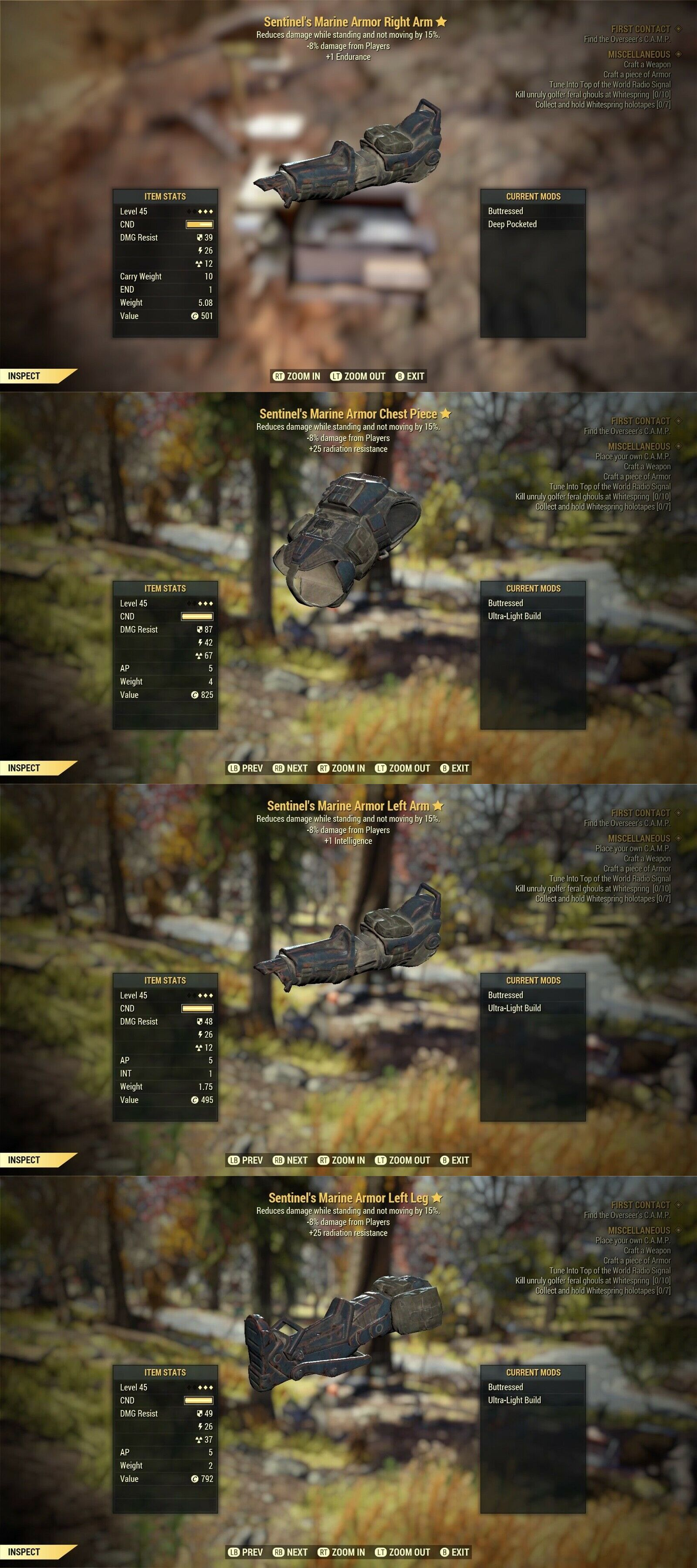 Video Game Merchandise 38583: Full Marine Sentinel Assassin