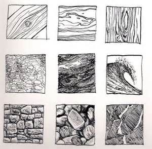 Sample Ink Drawing Textures 6 Elements Of Art Texture Drawing
