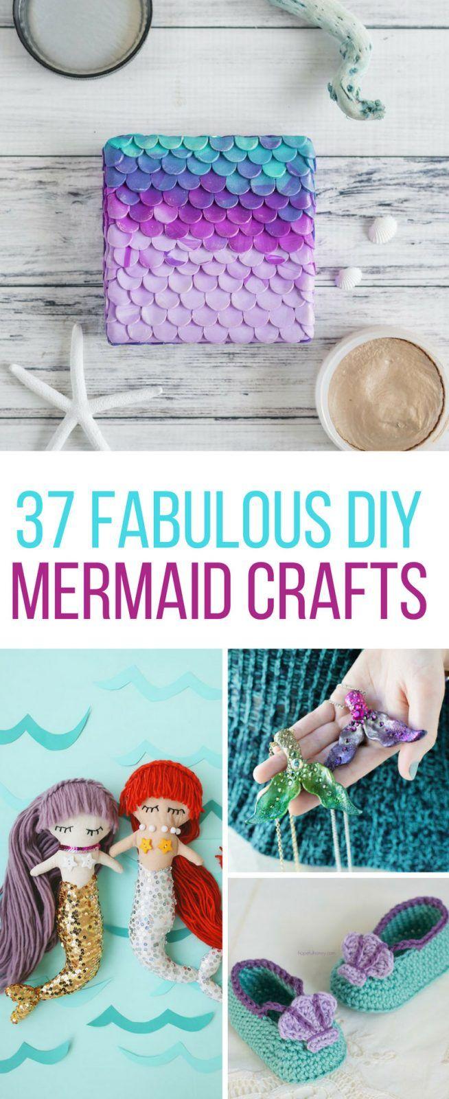 cd7b5672f2936 37 Fabulous DIY Mermaid Crafts to Make You Feel Like You re Under ...