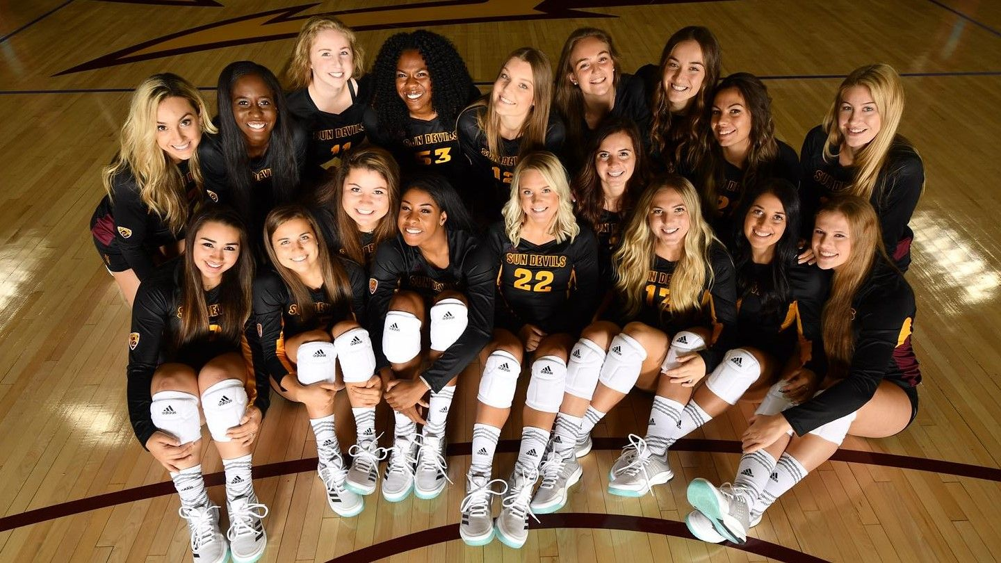 Ushers In 2017 Season With Annual Scrimmage Arizona State University Athletics Women Volleyball Volleyball News Volleyball Team