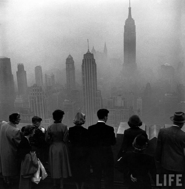 NY en la niebla