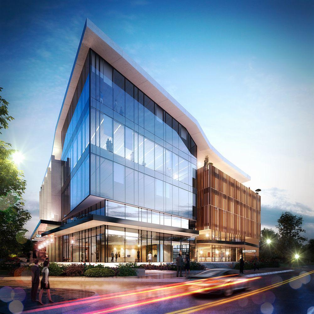 Pin von clusters creative auf exterior arch viz pinterest architektur architektur - Futuristische architektur ...