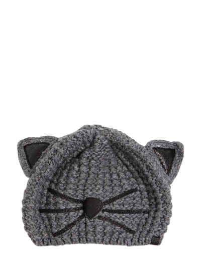 Choupette glitter beanie - Black Karl Lagerfeld PSwW4Eq3d