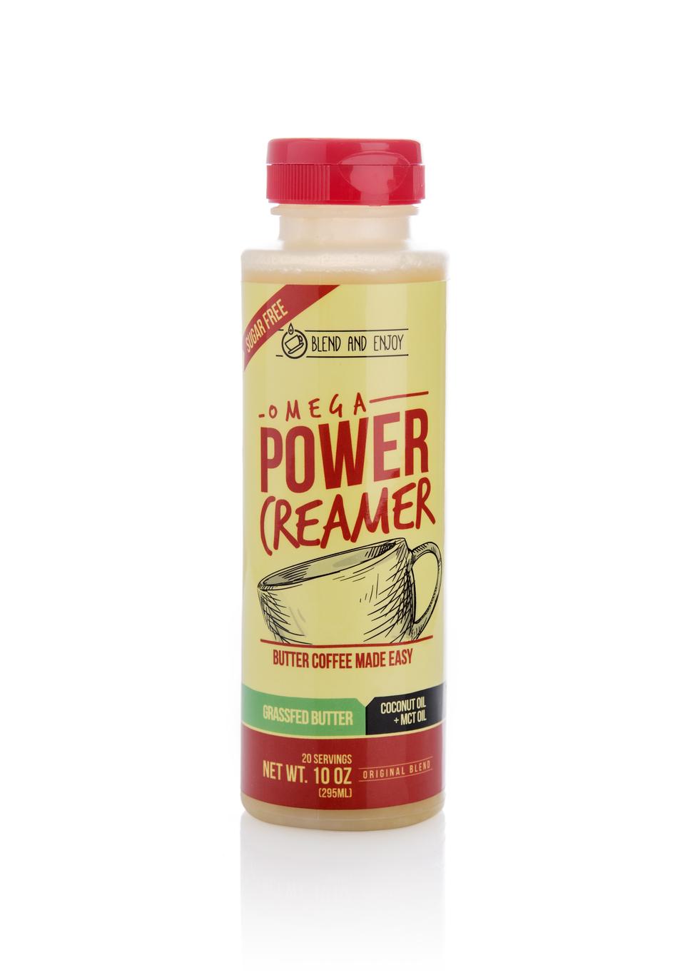 The PowerCreamer Keto coffee creamer, Coffee creamer