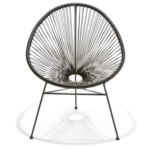 Acapulco Replica Chair Black Kmart