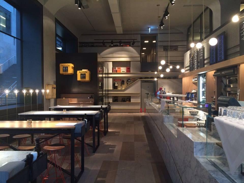 Piu restaurant zurich architectural lighting design: orly avron