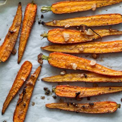 Coffee Roasted Carrots