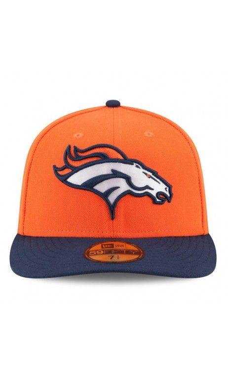 NFL Men s  Denver  Broncos New Era Orange On-Field Low Crown 59FIFTY Fitted   Hat c4335b700d89