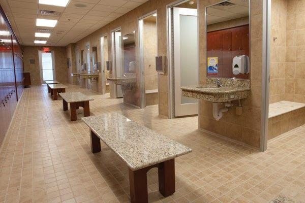 Locker Room Shower Gym