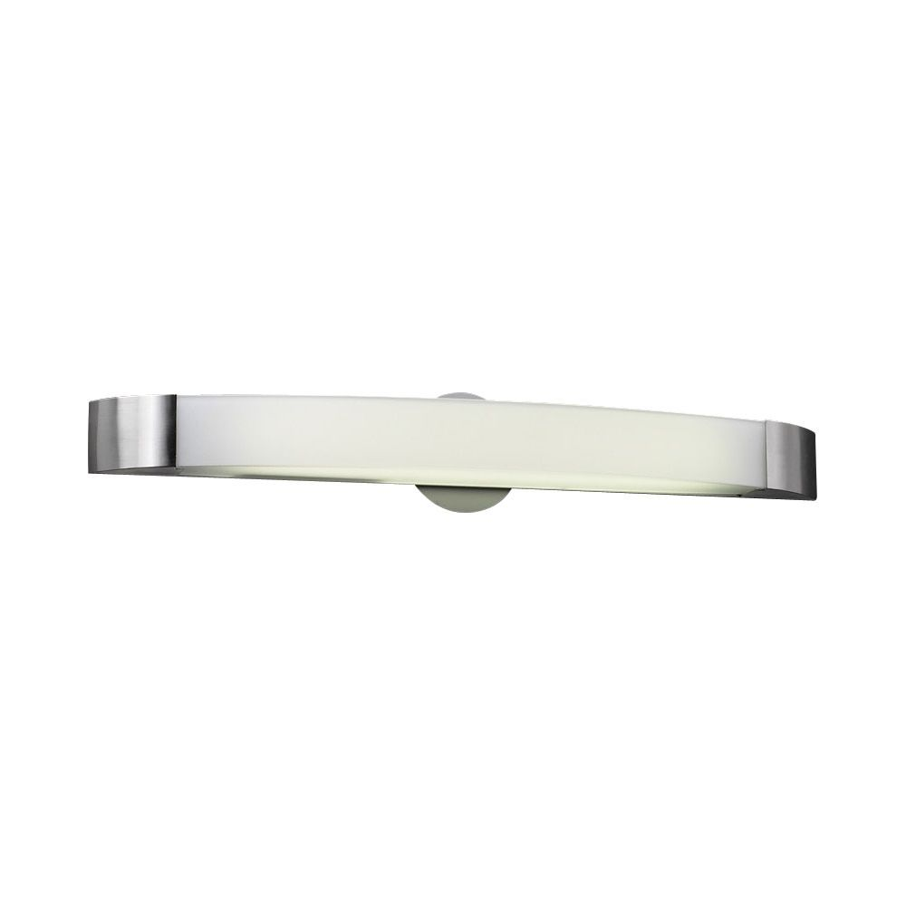 PLC Lighting Single Light Vanity Delaney Collection (Satin Nickel ...