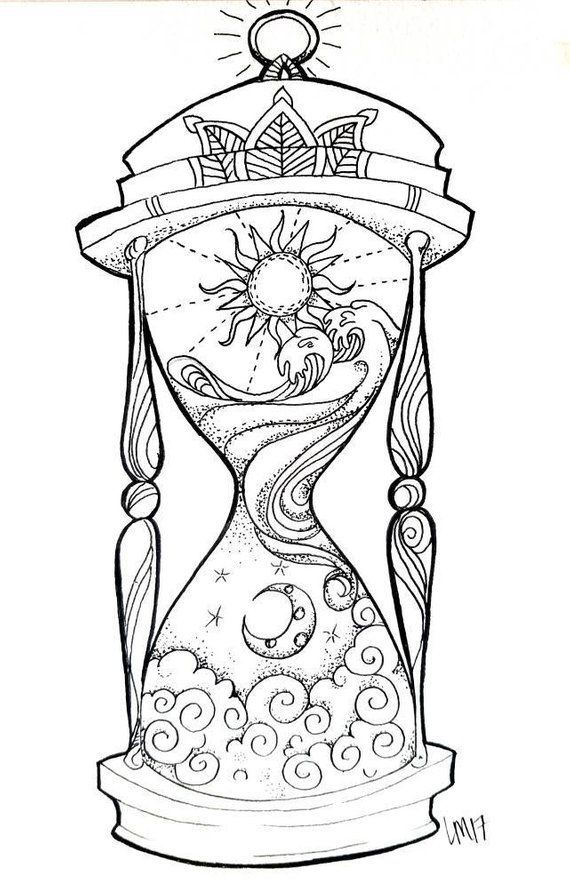 Photo of Hourglass small art print