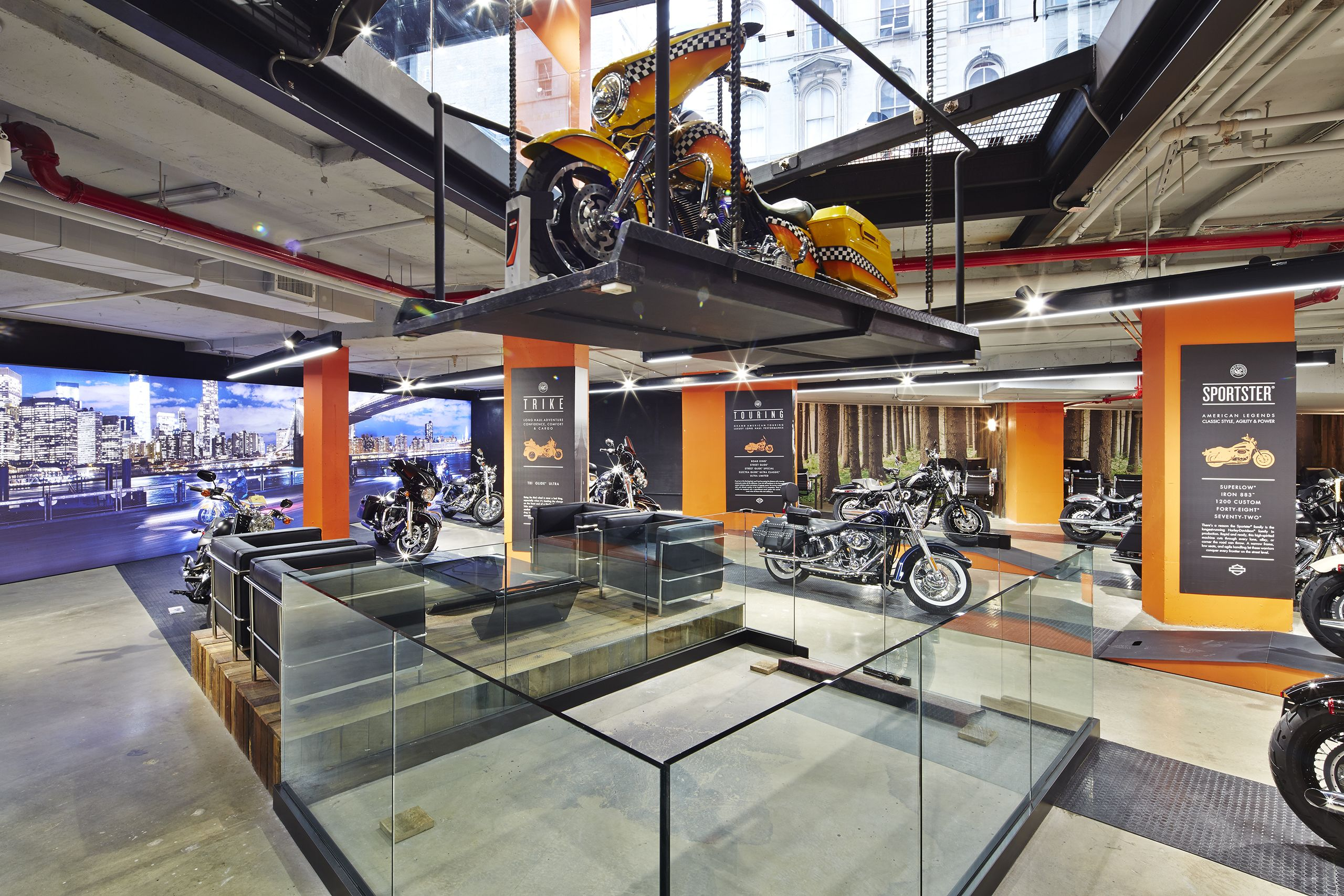 Harley Davidson S Nyc Showroom Retail Scapes In 2019