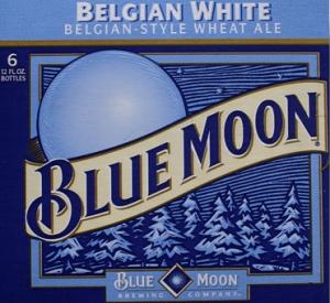 Once In A Blue Moon Beer Blue Moon Beer Blue Moon Beer Label