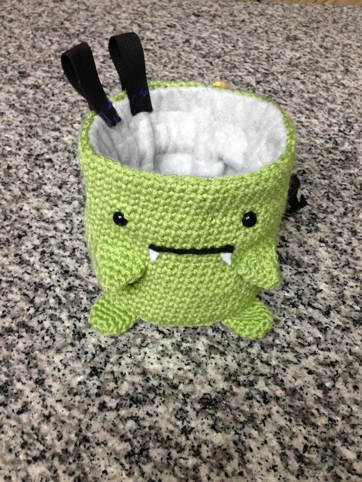 Homygawd This Chalk Bag I Eeee Gah So Friggin Cute