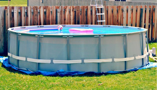 Intex 16 ft x 48 in ultra frame above ground pool set - Above ground swimming pools reviews ...