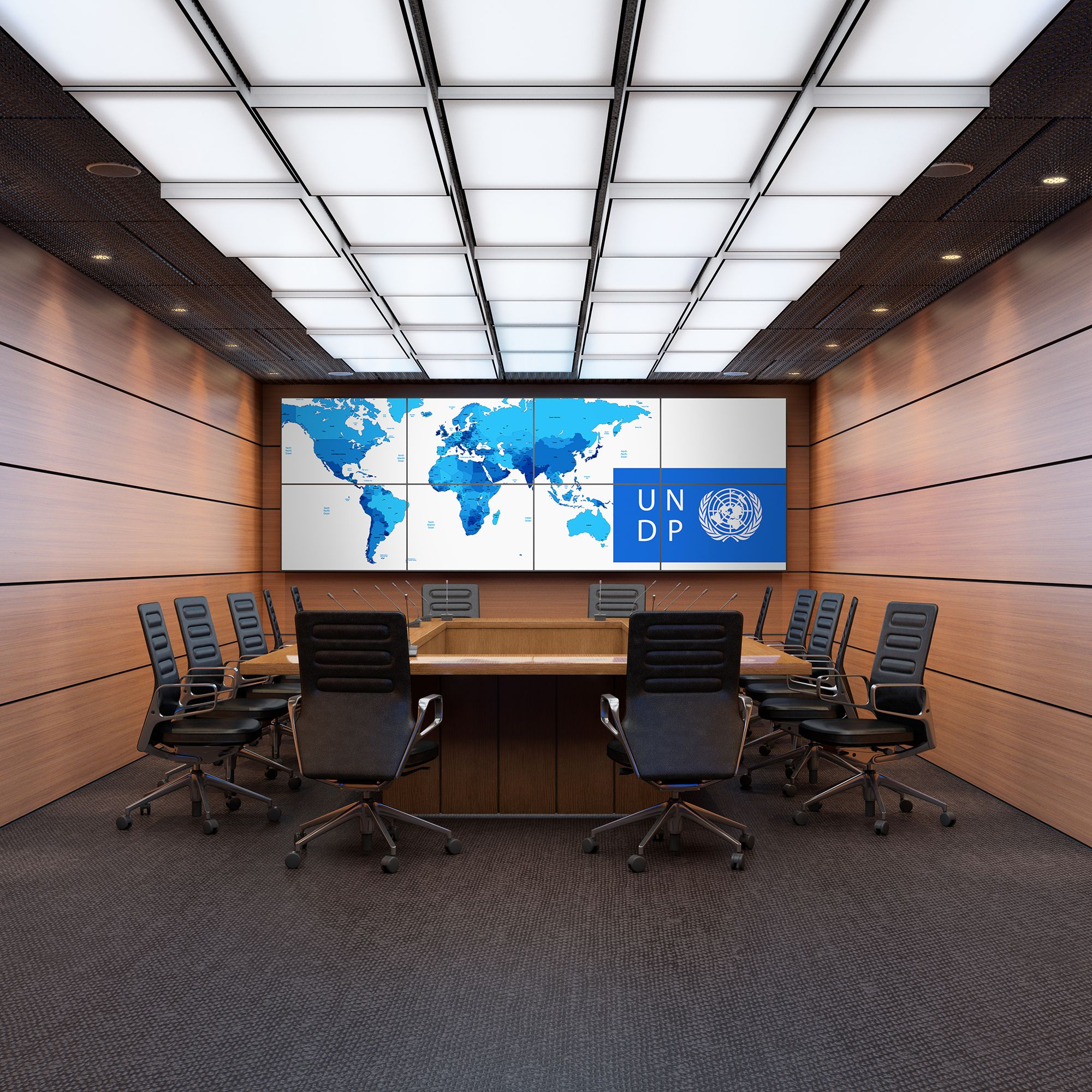 Our video wall is designed and manufactured to support the