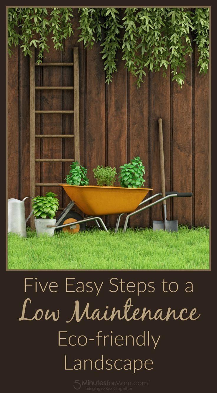 Five Easy Steps to a Low Maintenance Eco-friendly Landscape ...