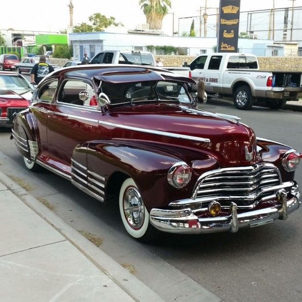 Gilbert Garibay's #1946 #Chevy Fleetline Restored To It's