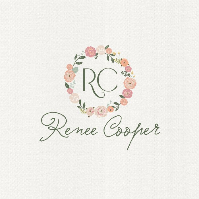 Pre Made Logo Or Watermark Design Renee Cooper Customised To Your Name
