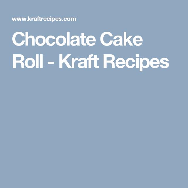 Chocolate Cake Roll - Kraft Recipes