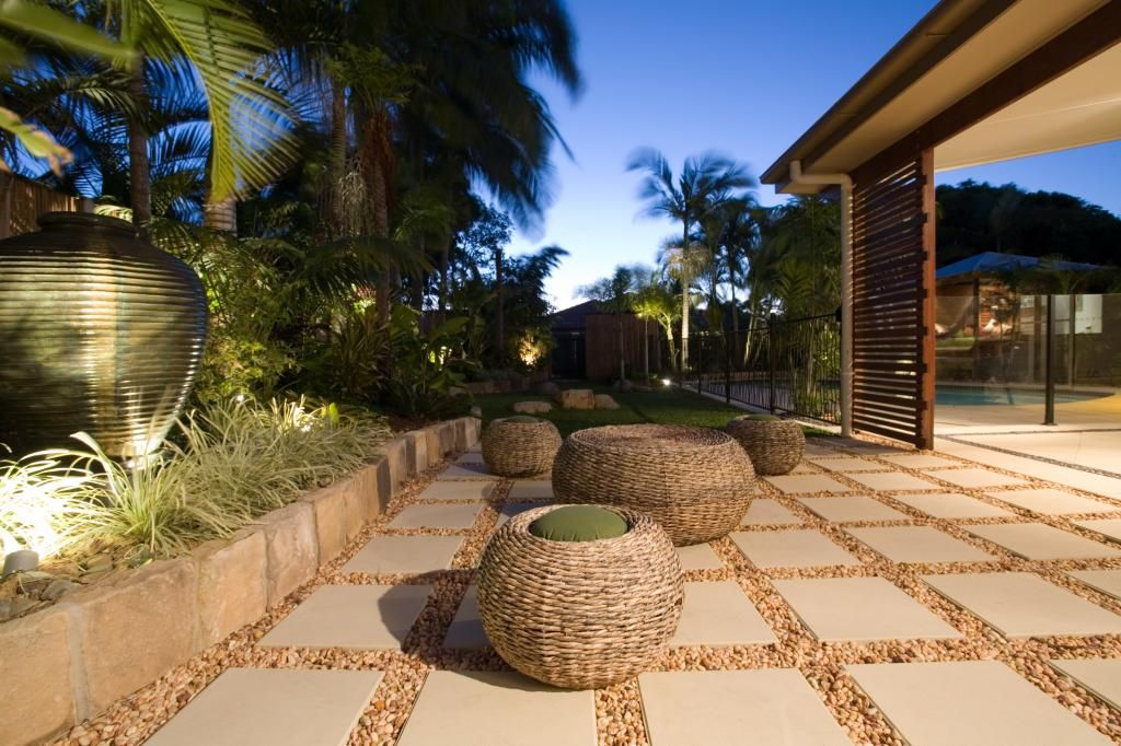 The paver pebble look - great in some spots (not all ...